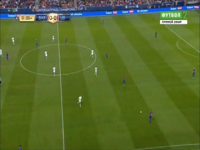 Barcelona 4-2 Leicester City