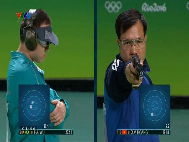Hoàng Xuân Vinh giành HC vàng Olympic 2016