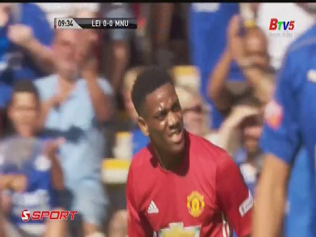 Man Utd 2-1 Leicester