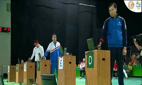 Hoàng Xuân Vinh giành HC bạc 50m súng ngắn Olympic 2016