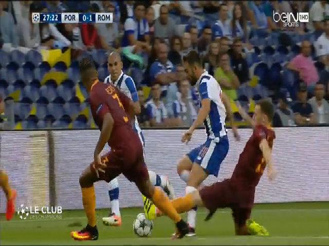 Porto 1-1 Roma
