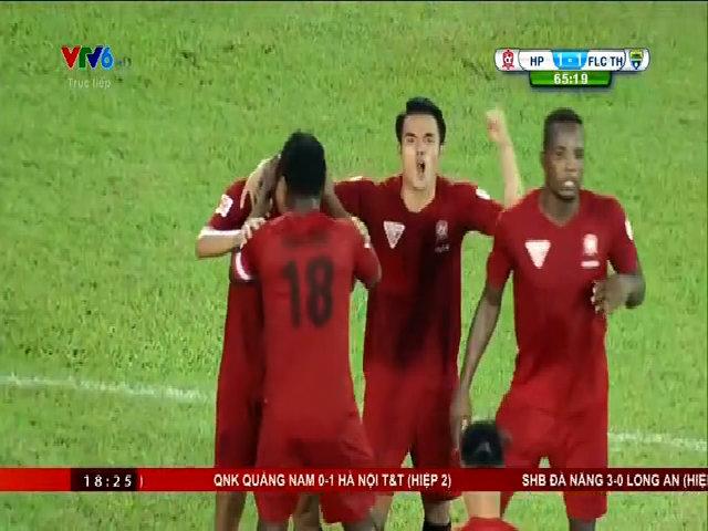 Hải Phòng 1-1 Thanh Hóa