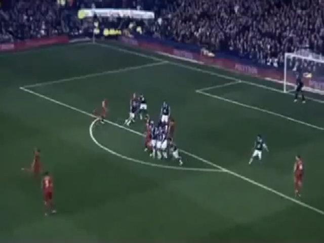 Bàn thắng vào lưới Everton