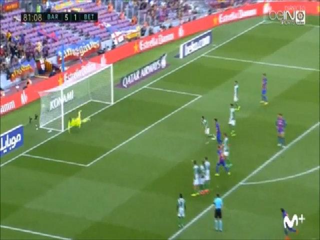 Bàn thắng vào lưới Real Betis