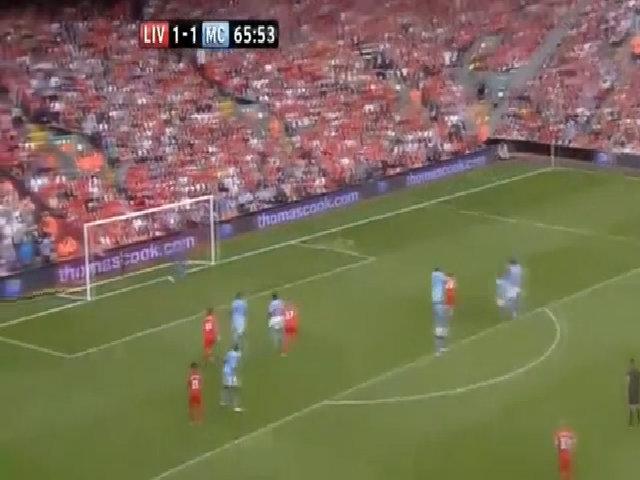 Bàn thắng vào lưới Man City