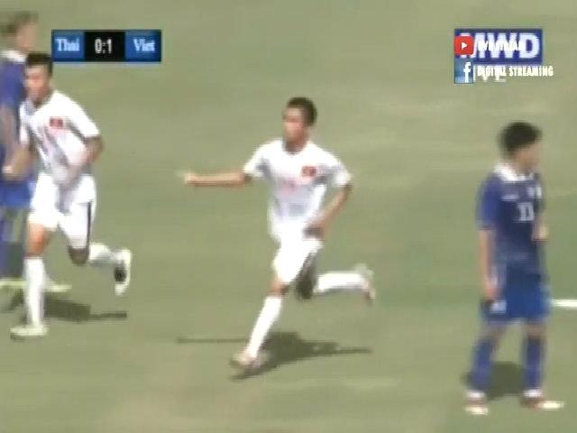 U19 Thái Lan 0-1 U19 Việt Nam