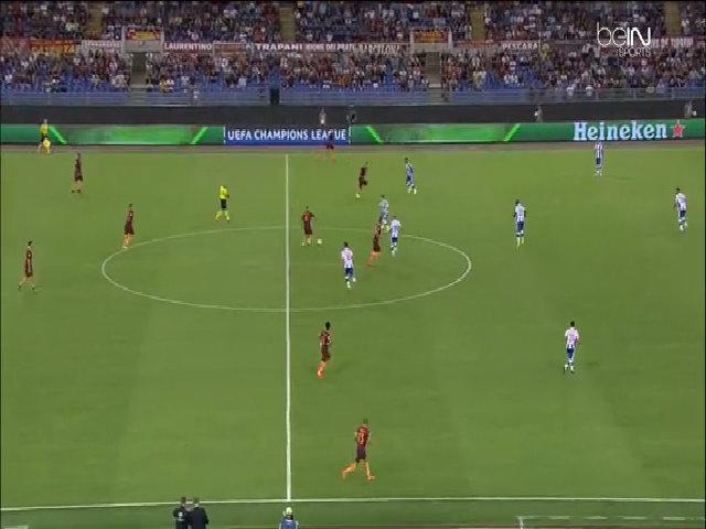 AS Roma 0-3 Porto