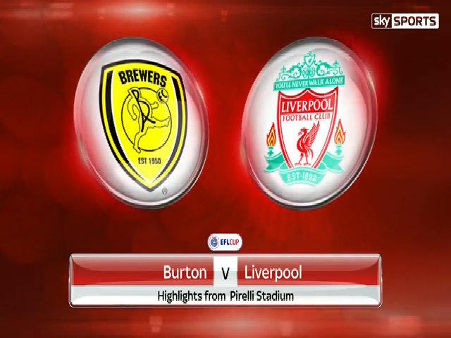 Burton 0-5 Liverpool