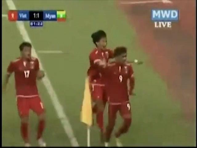 U19 Myanmar 1-1 U19 Việt Nam