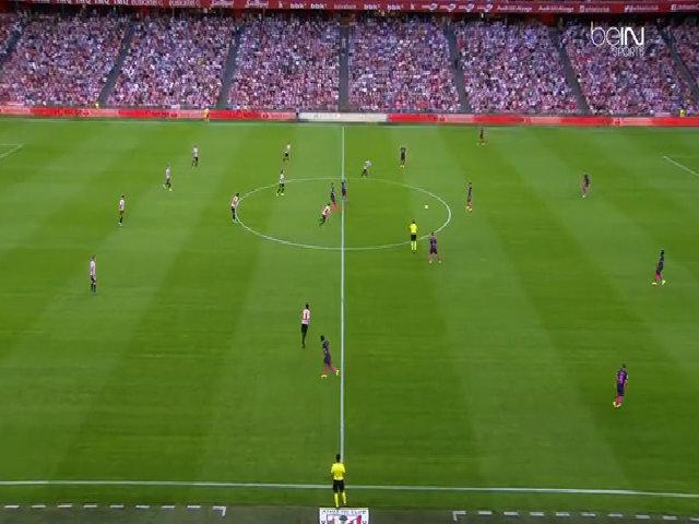 Athletic Bilbao 0-1 Barcelona