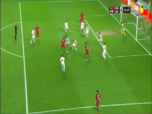 Bồ Đào Nha 5-0 Gibraltar