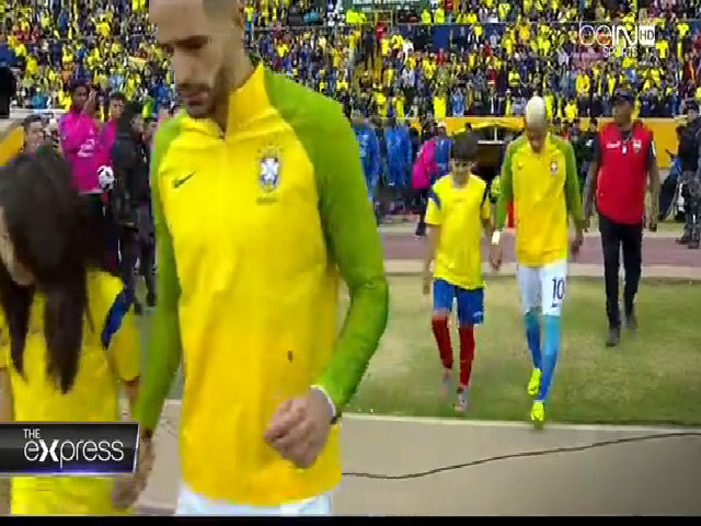 Ecuador 0-3 Brazil
