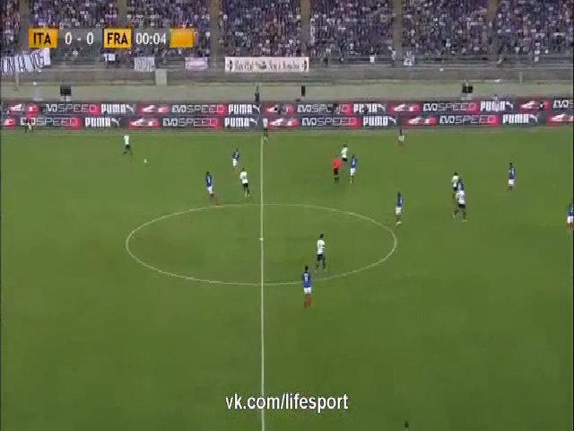 Italy 1-3 Pháp