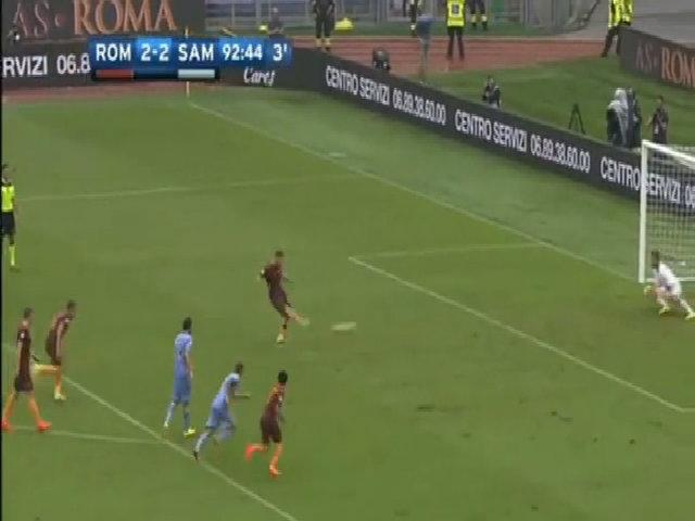 Roma 3-2 Sampdoria