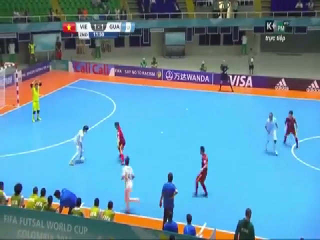 Việt Nam - Guatemala: 4-2