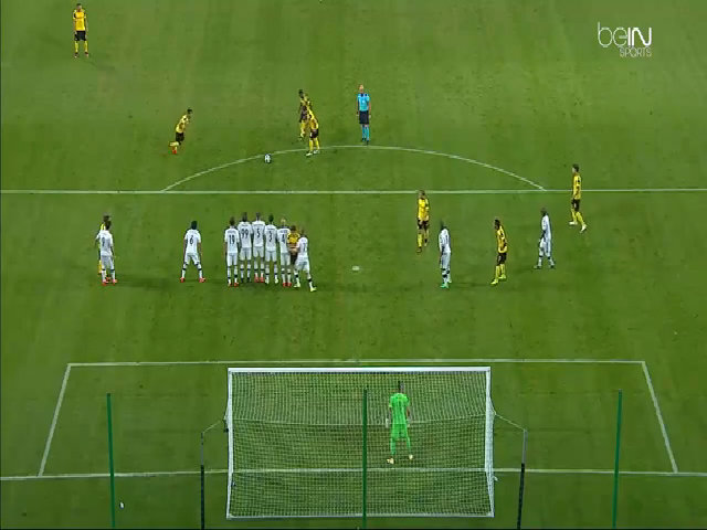 Legia Warszawa 0-6 Borussia Dortmund