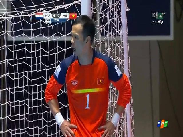 Việt Nam 1-6 Paraguay