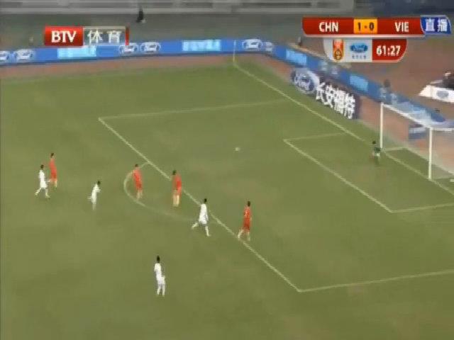 U22 Trung Quốc 1-1 U22 Việt Nam