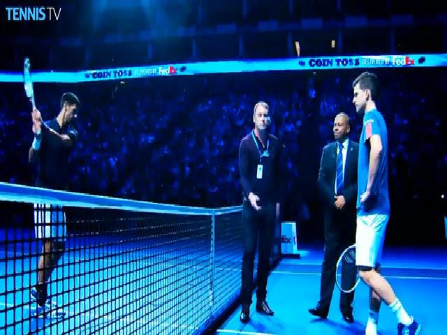 Dominic Thiem 1-2 Novak Djokovic