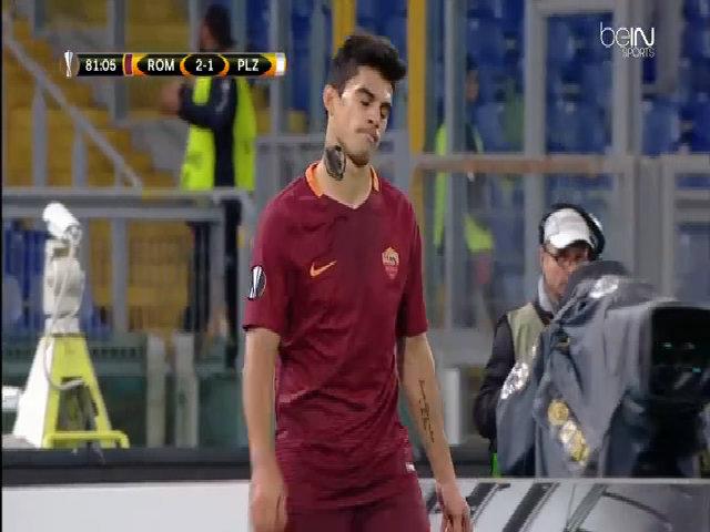 Roma 4-1 Viktoria Plzen