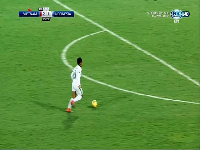 Tỷ số là 2-2 cho Indonesia