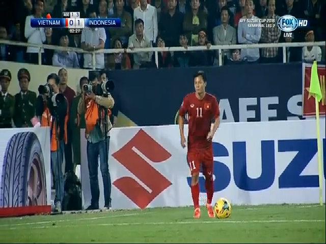 Việt Nam gỡ hòa 1-1