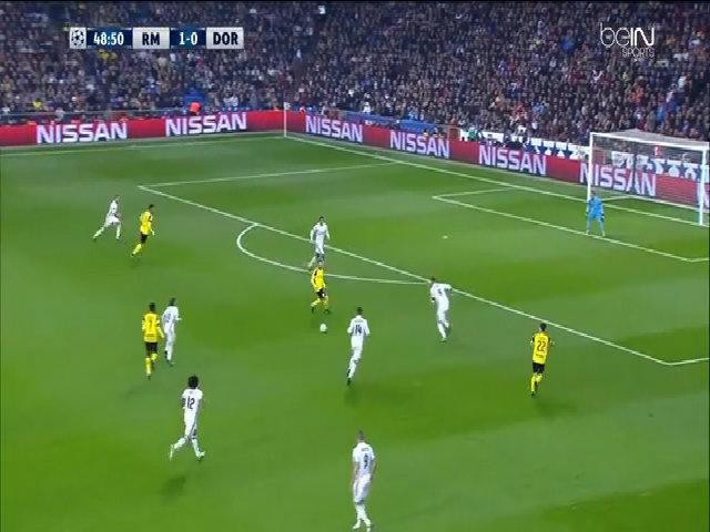 Real Madrid 2-2 Borussia Dortmund