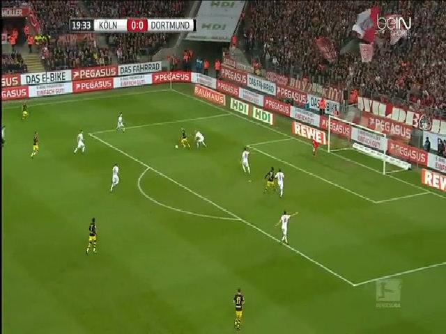 FC Cologne 1-1 Borussia Dortmund