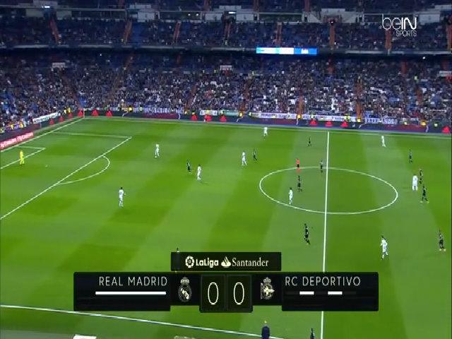 Real Madrid 3-2 Deportivo La Coruna