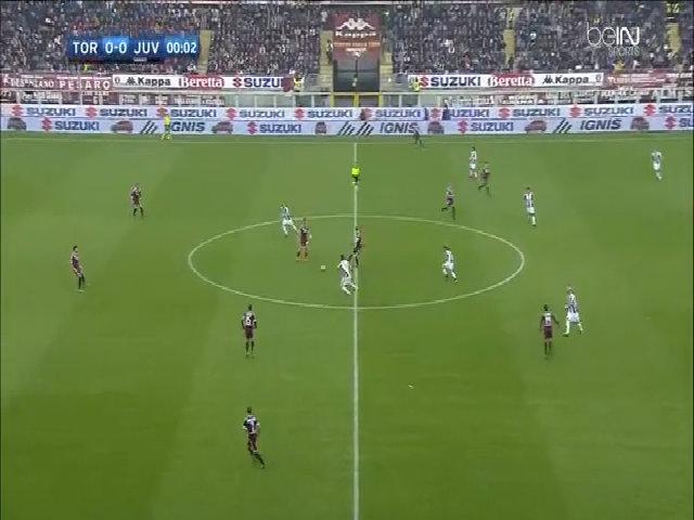 Torino 1-3 Juventus