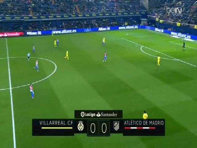Villarreal 3-0 Atletico Madrid