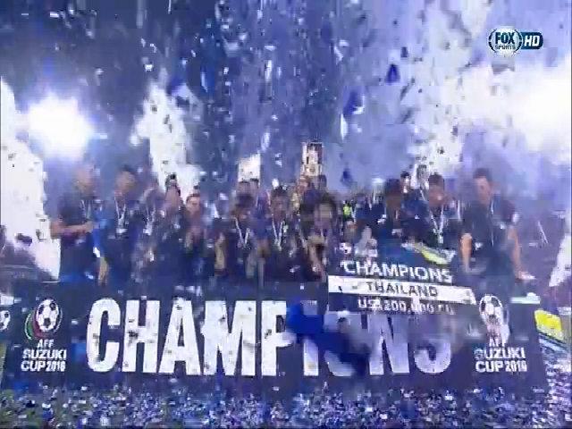 Thái Lan đăng quang tại AFF Cup 2016