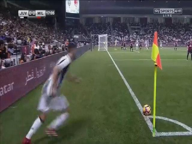 Juventus 1-1 AC Milan (pen 3-4)