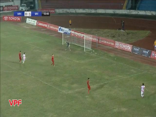 Hải Phòng 0-1 Sài Gòn