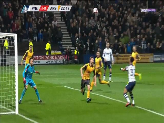 Preston North End 1-2 Arsenal