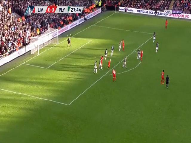 Liverpool 0-0 Plymouth Argyle