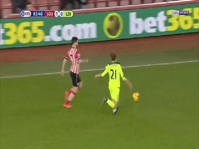 Southampton 1-0 Liverpool