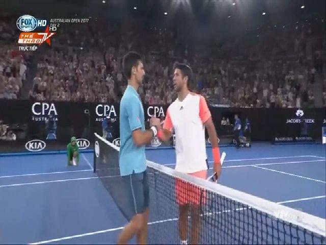 Fernando Verdasco 0-3 Novak Djokovic
