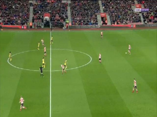 Southampton 0-5 Arsenal