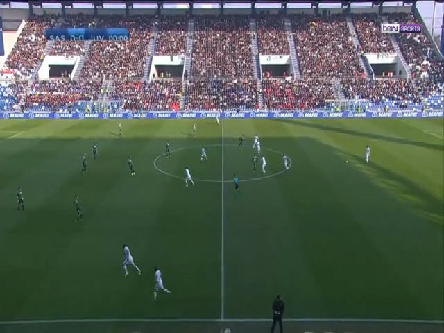 Sassuolo 0-2 Juventus