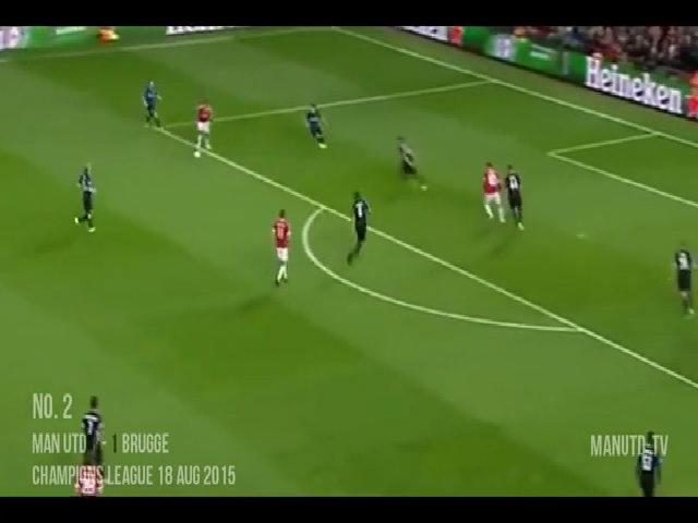 Những pha ghi bàn và kiến tạo của Depay tại Man Utd