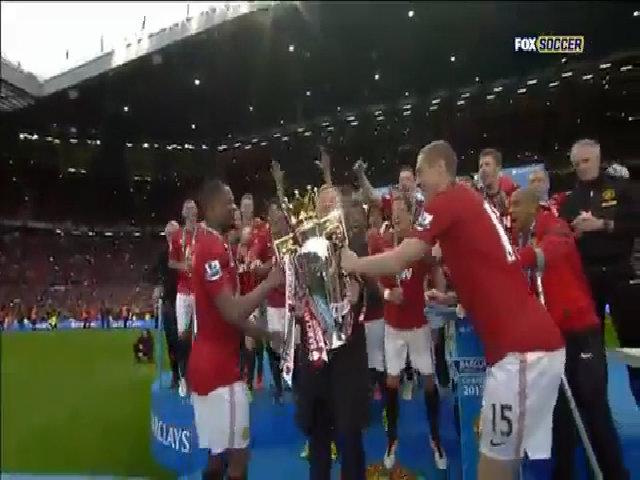 Lần gần nhất Man Utd nâng Cup vô địch Ngoại hạng Anh