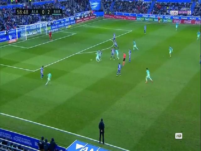 Alaves 0-6 Barca