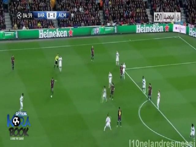 Barca ngược dòng thắng AC Milan ở Champions League