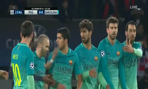 Paris Saint Germain 4-0 Barcelona