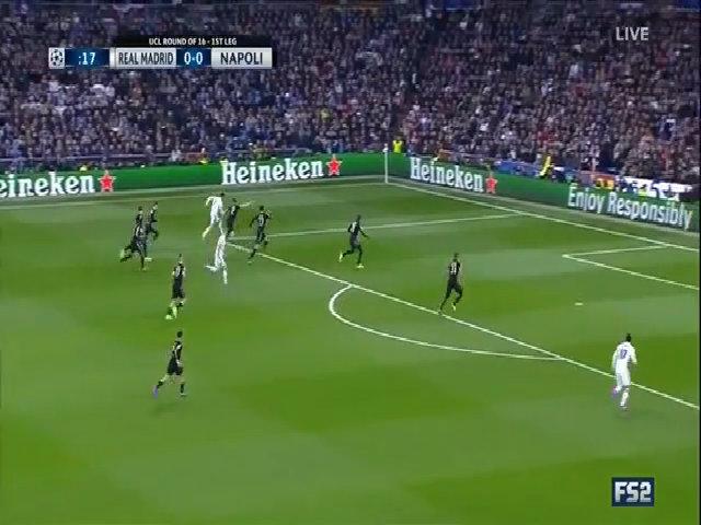 Real Madrid 3-1 SSC Napoli