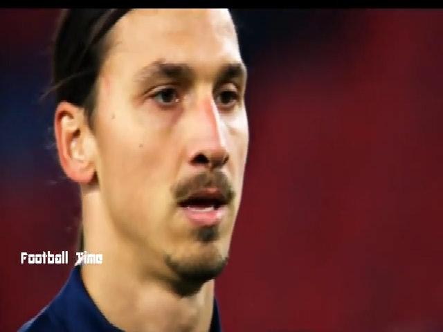 Những pha bóng đẹp của Ibra trong mùa giải cuối tại PSG