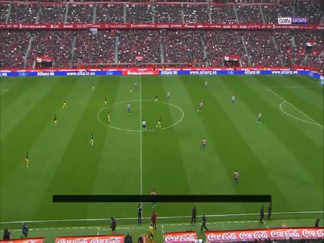 Sporting Gijon 1-4 Atletico Madrid