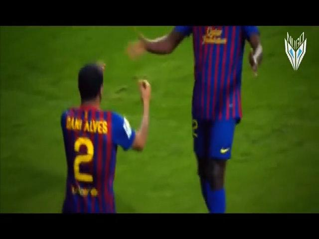 Thời đỉnh cao của Alves tại Barca