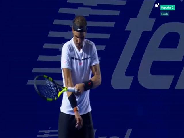 Yoshihito Nishioka 0-2 Rafael Nadal